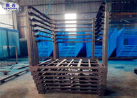 Stainless Steel Metal Stacking Racks Durable Inverted / Normal Storage Frame