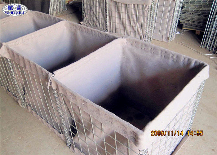Army Wall Sand Filled Barriers Protective Flood Barriers ISO Certificated