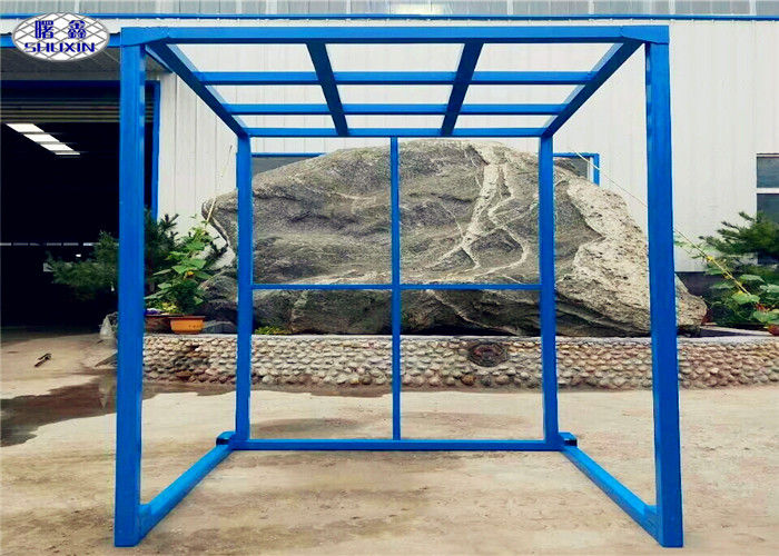 Inverted Steel Stacking Racks , Powder Coated Warehouse Pallet Stacking Racks