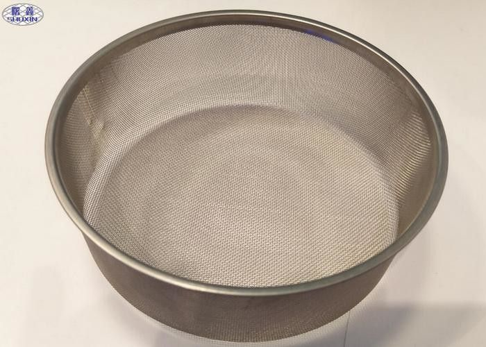 Stainless Steel Wire Mesh Fruit Basket , Single Ring Storage Wire Fruit Bowl