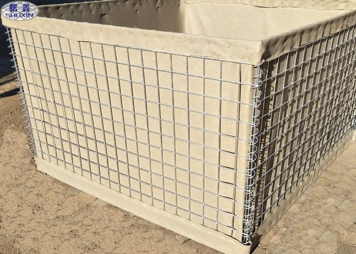 Collapsible Metal Security Military Hesco Barriers For Long-Term Wetland Restoration